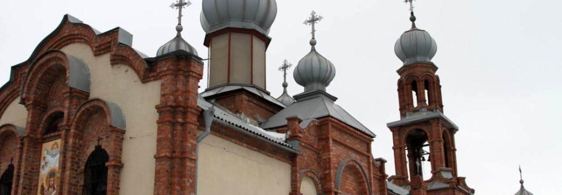 Освящение престола в храме святого вмч. Димитрия Солунского, г.Луганск