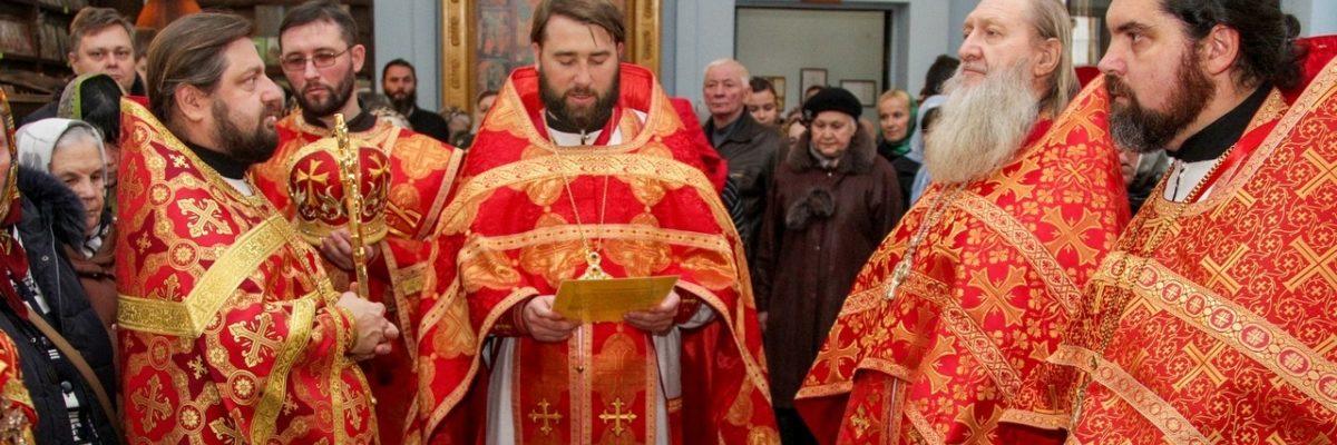 Престольный праздник вмч. Димитрия, г.Луганск